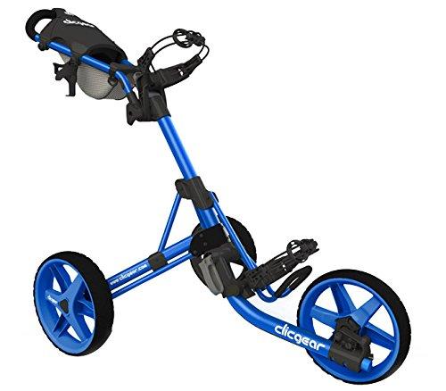 2015 Clicgear Model 3.5+ Trolley Golf Pushcart Blue/Black