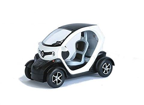 Renault 1 18 - Renault Twizy ZE blanc Modèle de voiture