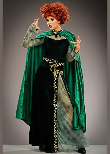 Kostüm Pocus Hocus Für Erwachsene - Magic Box Int. Womens Hocus Pocus Style Hexenkostüm mit Umhang Small (UK 8-10)