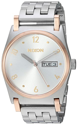 NIXON Women's Analogue Japanese-Quartz Watch with Stainless-Steel Strap A9542632-00