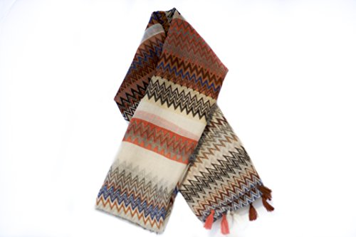 women-ladies-girls-scarf-wrap-stole-5multi-coloured-zic-zac-print-stole-with-tassels