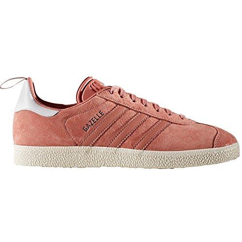 adidas Gazelle, Scarpe da Ginnastica Basse Donna raw pink-raw pink-silver metallic