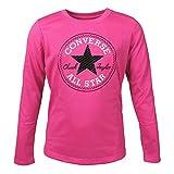 Converse Mädchen Langarmshirt Chuck Patch Tee Pink Pow (pink), Größe:XL