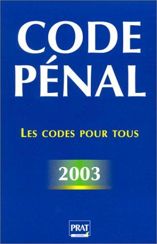 Code pénal 2003