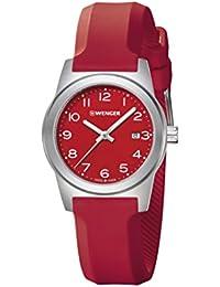 WENGER Damen-Armbanduhr SPORT DYNAMIC FIELD COLOR Analog Quarz Silikon 01.0411.127
