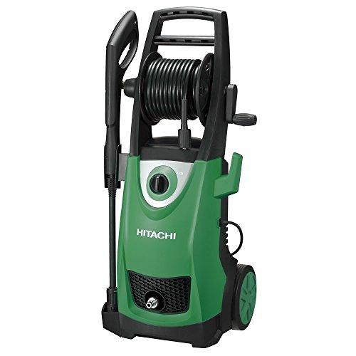 Hitachi AW150(LA) Vertical Eléctrico 400.2l/h 2000W Negro, Verde Limpiadora de alta presión o Hidrolimpiadora - Limpiador de alta presión (Vertical, Eléctrico, 10 m, Negro, Verde, 400,2 l/h, 110 bar)