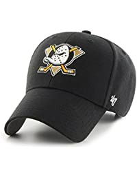 Gorra 47 Brand – Nhl Anaheim Ducks Mvp Curved V Struct Fit negro