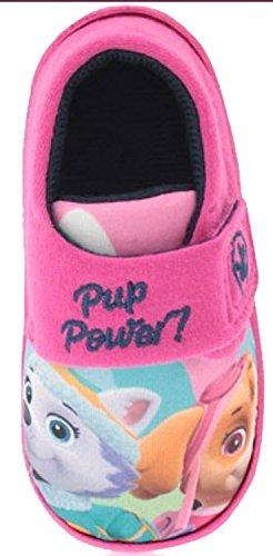 Socks Uwear  Paw Patrol,  Mädchen Durchgängies Plateau Sandalen mit Keilabsatz Rose