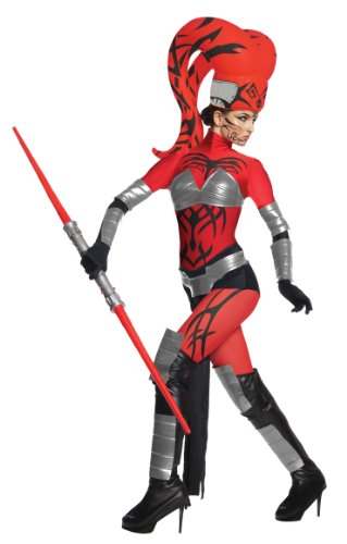 Star Wars Damen Kostüm Darth Talon Alien Sith zu Karneval Fasching - Gr. M-L (Star Wars Darth Talon)