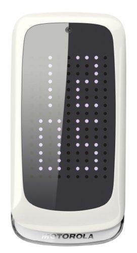 Motorola Motorola Gleam+ Klapphandy (6,1 cm (2,4 Zoll) TFT-Display, 2 Megapixel Kamera, USB 2.0) weiß