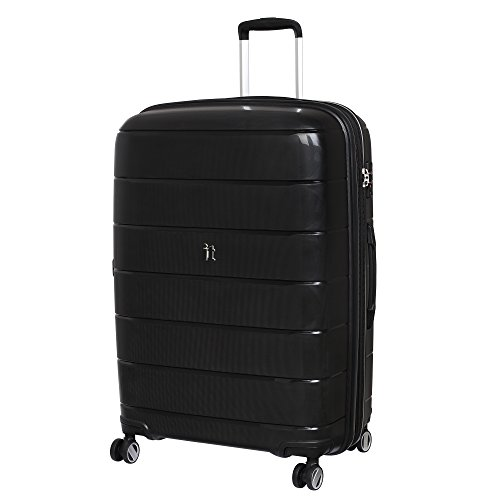 it luggage Asteroid Koffer, 75 cm, 149 liters, Schwarz (Black)