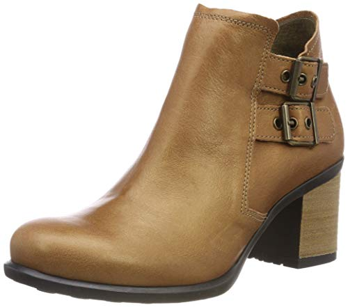 Damen Braun Stiefel Tan (Fly London Damen Isma421fly Kurzschaft Stiefel, Braun (Tan 002), 41 EU)