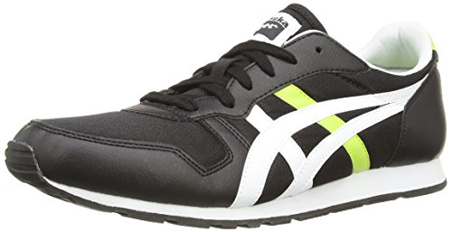 Onistuka Tiger Temp-Racer, Chaussures Multisport Outdoor Mixte adulte Noir (Black/Red 9023)