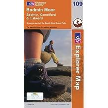 Bodmin Moor (Explorer Maps) (OS Explorer Map)
