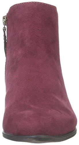 s.Oliver Damen 25351 Kurzschaft Stiefel Rot (Burgundy 507)
