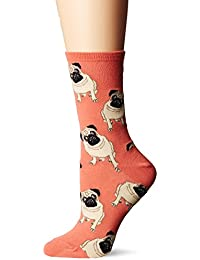 Socksmith Pugs, Calcetines para Mujer