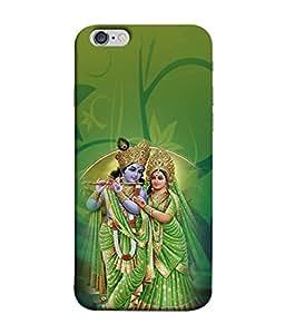 PrintVisa Designer Back Case Cover for Apple iPhone 6 (Lord Krishna god Prayer Drums)