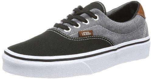 Vans U Era 59 VUC6AT7 Unisex-Erwachsene Sneaker Weiß ((Canvas Chamb)