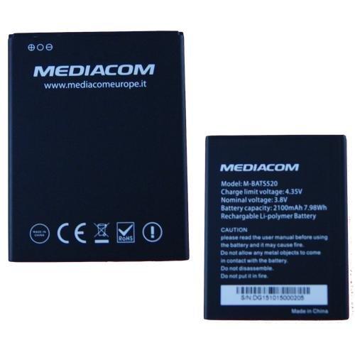 BATTERIA RICAMBIO SOSTITUZIONE ORIGINALE MEDIACOM PHONEPAD DUO S520 M-PPAS520 BOMAItalia