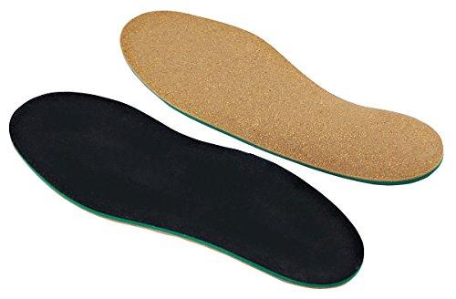 Komfort-Einlegesohlen für Senkfüße, Plattfüße, Normalfüße und Hohlfüße mit Spreizfuß-Stütze und Dämpfungs-Polster für Ihren Fuß, Hand-Made in Germany von Green-Feet