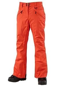 Westbeach Women's Kamtow  Snowboard Pant  - Orange Crush, Medium