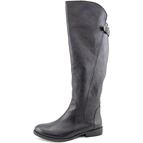 Lucky Brand Zepia Wide Calf Cuir Botte Black