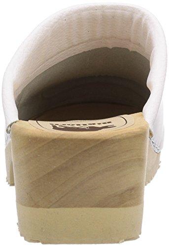 Gevavi  360 BIGHORN flexibler, Mules mixte adulte Blanc - Weiß (weiss(wit) 01)