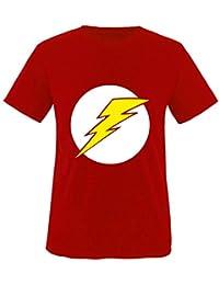 Big bang theory sheldon t-shirt pour enfant flash-taille de 86 à 164 4d8e637ae8d1