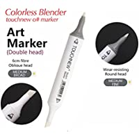 2pcs 0 # mezclador incoloro marcador tinta base alcohol doble cabeza juego de rotuladores para dibujo
