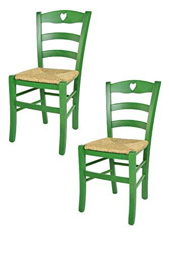 sedie da cucina in legno e paglia 2018 - Le migliori ...