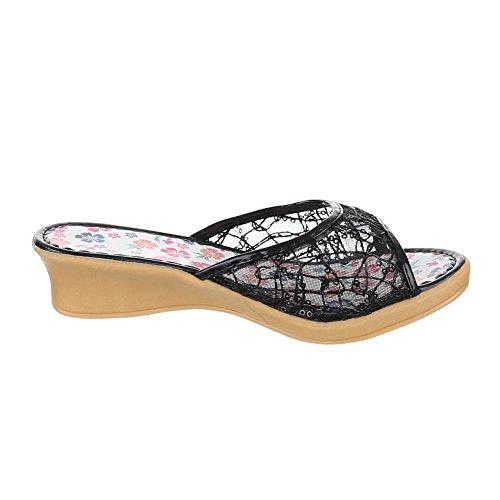 Chaussures pour enfants, de c 5, Sandales Mules à talons Noir - Noir