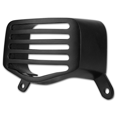 autofy metal back/tail light grill for royal enfield bullet standard 350 & 500  (black) Autofy Metal Back/Tail Light Grill for Royal Enfield Bullet Standard 350 & 500  (Black) 41CJcBdvU3L