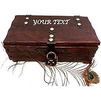 Cofre de Madera, Caja con Candado, Personalizado Cofre, Caja Madera, Caja Baúl, Caja Boda, Cofre Tesoro, Cofre para Hombres, Caja Aniversario, Caja Herrajes