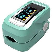 Leo565Tom Pulsioxímetro de Dedo Oxímetro Pulsómetro con Pantalla OLED Home Portable Monitor de Saturación de Oxígeno en Sangre Monitor de Presión Arterial