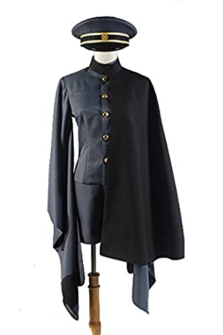 Vocaloid 2 Senbonzakura's Brother Kagamine Rin/Len Military Uniform Cosplay Kostüm Herren S