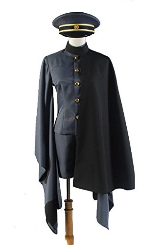 Vocaloid 2 Senbonzakura's Brother Kagamine Rin/Len Military Uniform Cosplay Kostüm Herren XXXL