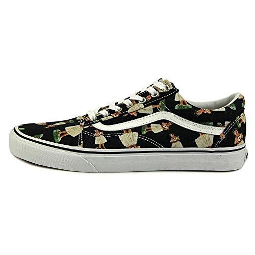 Vans Herren Skool Sneaker Schwarz/Mehrfarbig