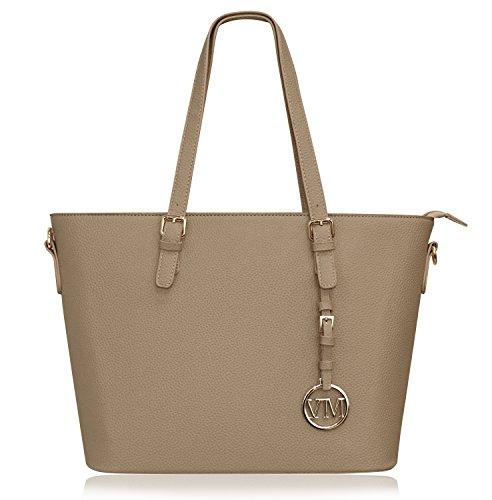 Vanessa & Melissa Damen Handtasche Kunstleder Shopper Shopping Bag Tasche