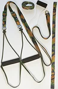Trainer In a Bag, Equalizer Suspension Trainer, Camo, (3000 Series). Made in USA and Free Shipping from the USA
