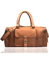 2ae20e478dc9 Leather Travel Duffels  Buy Leather Travel Duffels online at best ...