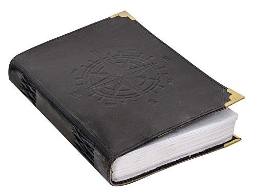 Notizbuch Gusti Leder 'Columbus' DIN B5 Lederbuch Notizblock Buch Tagebuch Skizzenbuch...