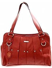 Lorenz, sac à main pour femme (M) - rouge - Rot,