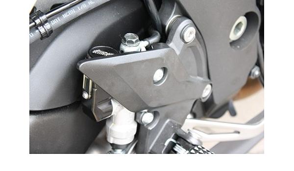 Gsg Bremsflüssigkeitsbehälter Hinten Silber Eloxiert Kawasaki Z 1000 Zrt00b 07 09 Abe Auto