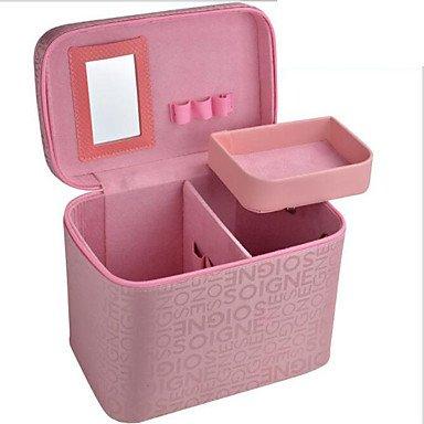 RY@ Femme Polyester Utilisation Professionnelle Trousse de Maquillage Rose / Rouge , pink