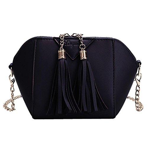 Amlaiwolrd Sac ❤️ Sacs à Bandoulière Femmes, à main de mode Sac à bandoulière gland Petit sac à main pour dames