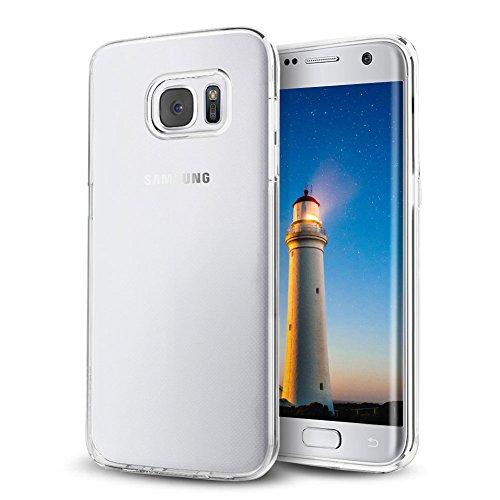 Galaxy-S7-edge-Hlle-Samione-TPU-Schutzhlle-fr-Galaxy-S7-edge-Case-Kratzfeste-Plating-Schutzhlle-Silikon-Crystal-Case-Durchsichtig-fr-Samsung-Galaxy-S7-edge