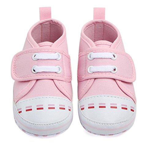 Igemy 1 Paar Kinder Jungen Mädchen Sport Schuhe Sneakers Baby Infant Soft Bottom Rosa
