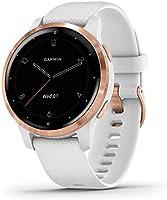 Garmin vívoactive 4S – slanke, waterdichte GPS-fitnesssmartwatch met trainingsplannen en geanimeerde oefeningen. Voor...