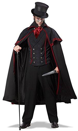 Jack the Ripper Kostüm Übergröße Halloween Karneval Verkleidung XXXL (Jack The Ripper Kostüme)