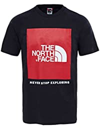 North Face Raglan Red Box Short Sleeve T-Shirt